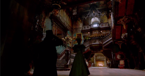 Crimson Peak hall