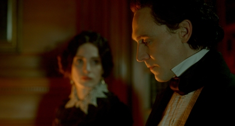 Crimson Peak Hiddleston Chastain