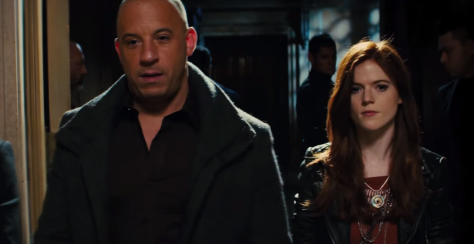 Last Witch Hunter Vin Diesel and Rose Leslie