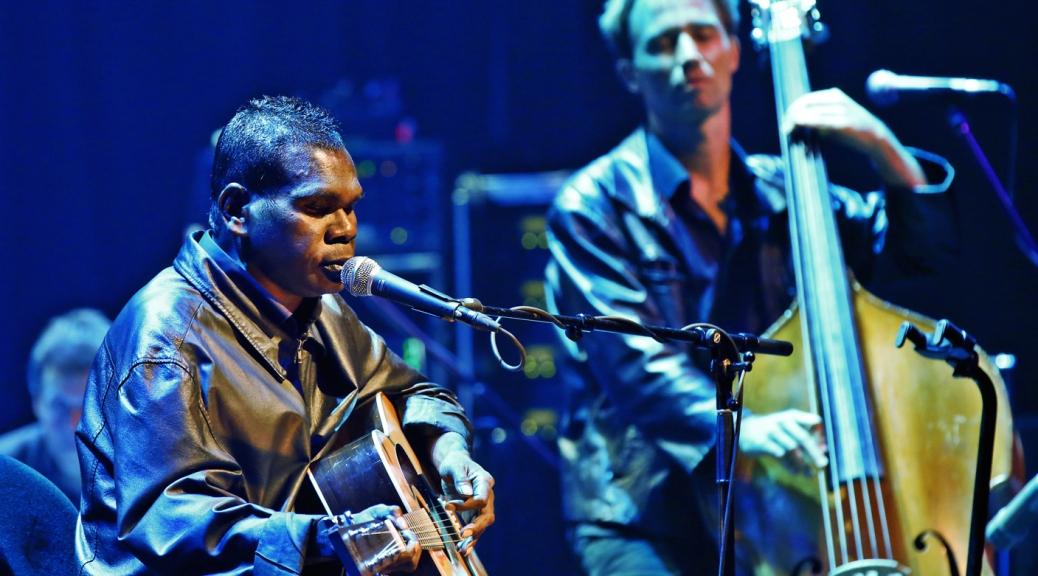 Gurrumul performing
